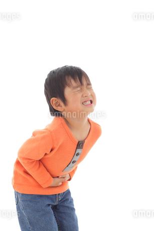 体調不良の男の子の写真素材 [FYI02025067]