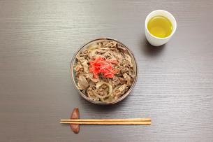 できたての牛丼の写真素材 [FYI02025085]