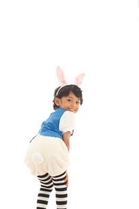 ハロウィンの仮装をした男の子の写真素材 [FYI02028265]