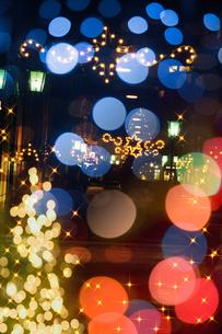 イルミネーションに彩られたフュッセンの写真素材 [FYI02028543]