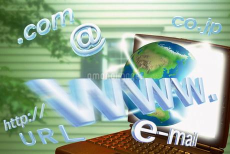 インターネットイメージ CGのイラスト素材 [FYI02028565]