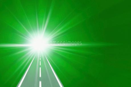 道路イメージ CGのイラスト素材 [FYI02028577]