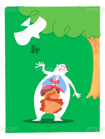 健康イラスト 健康診断イメージのイラスト素材 [FYI02028736]