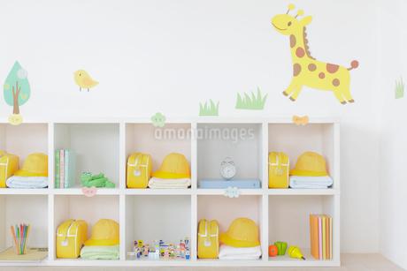 無人の幼稚園の教室の写真素材 [FYI02030098]