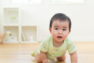 泣いている赤ちゃんの写真素材 [FYI02030510]