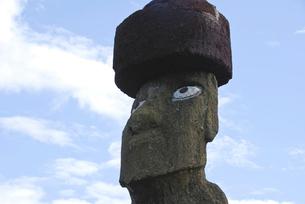 イースター島 モアイ像の写真素材 [FYI02030942]