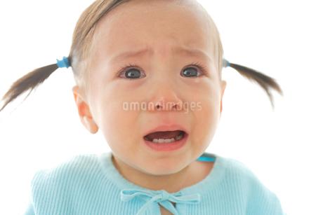 泣き顔の女の子の写真素材 [FYI02030964]