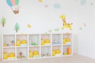 無人の幼稚園の教室の写真素材 [FYI02031413]