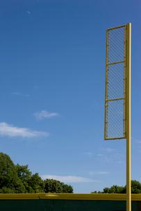 野球場のファールポールの写真素材 [FYI02032363]