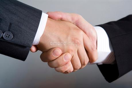 握手をするビジネスマンの手の写真素材 [FYI02033926]