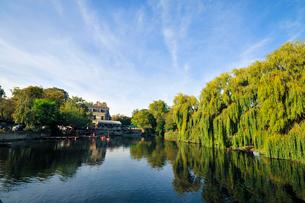 ケンブリッジを流れる川の写真素材 [FYI02035905]