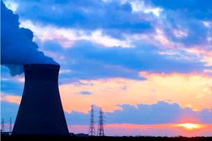アントワープの原子力発電所の写真素材 [FYI02036126]