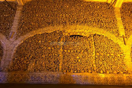 サンフランシスコ教会の骸骨礼拝堂の写真素材 [FYI02036259]