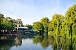 ケンブリッジを流れる川の写真素材 [FYI02036952]
