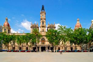 バレンシア市庁舎の写真素材 [FYI02037199]