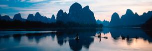 桂林の幻想的な風景の写真素材 [FYI02037226]