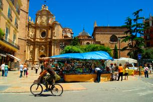 バレンシア大聖堂の写真素材 [FYI02037308]