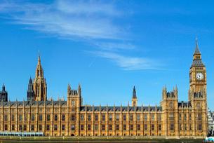 英国国会議事堂の写真素材 [FYI02037721]