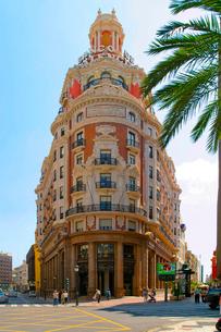 バレンシアの街並みの写真素材 [FYI02037788]