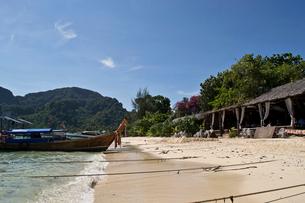 ピピ島のビーチの写真素材 [FYI02038410]