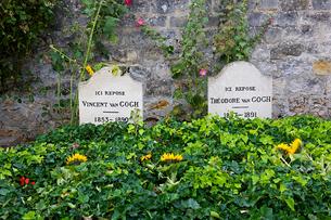 ヴァン・ゴッホの墓の写真素材 [FYI02038494]
