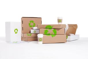 リサイクルボックスの写真素材 [FYI02038699]