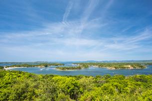 ともやま公園から見る英虞湾の写真素材 [FYI02038813]