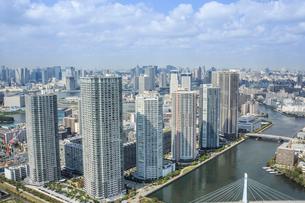 東京の高層マンションの写真素材 [FYI02038951]