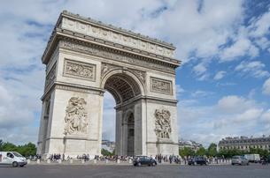 パリの凱旋門の写真素材 [FYI02039210]