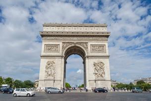 パリの凱旋門の写真素材 [FYI02039503]
