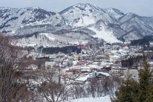 冬の蔵王連峰の写真素材 [FYI02039517]