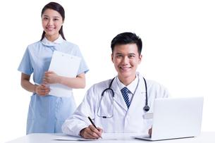 医師と看護婦の写真素材 [FYI02039577]