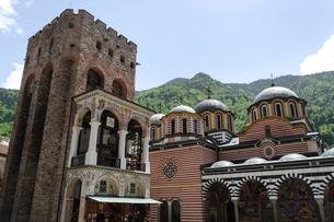 リラの修道院の写真素材 [FYI02039837]