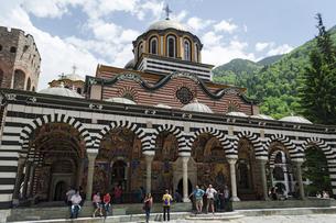 リラの修道院の写真素材 [FYI02039911]