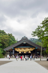 出雲大社神楽殿の写真素材 [FYI02039948]