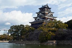 広島城の写真素材 [FYI02040618]