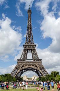 エッフェル塔の写真素材 [FYI02040718]