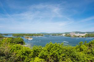 ともやま公園から見る英虞湾の写真素材 [FYI02041767]