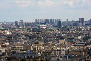 モンマルトルの丘から見たパリ市街の写真素材 [FYI02042481]