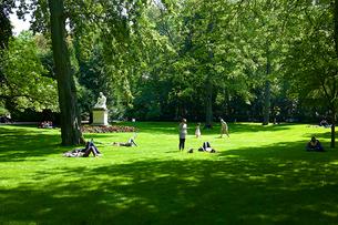 リュクサンブール公園の写真素材 [FYI02042749]