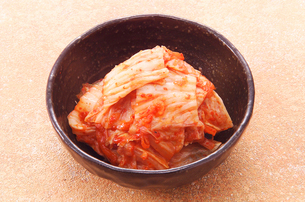 韓国料理 キムチの写真素材 [FYI02043065]