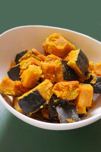 かぼちゃの煮物の写真素材 [FYI02043414]