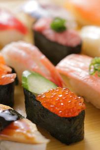 握り寿司の写真素材 [FYI02043512]