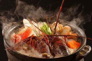 海鮮鍋の写真素材 [FYI02043839]
