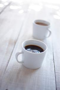 コーヒーとカフェオレの写真素材 [FYI02043965]