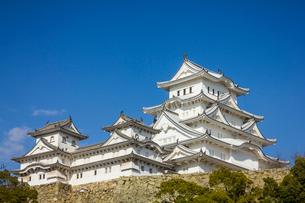 姫路城の写真素材 [FYI02044177]