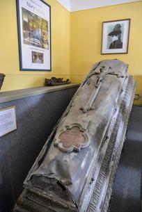 マリー・フォン・ヴェッツェラの棺の写真素材 [FYI02044377]