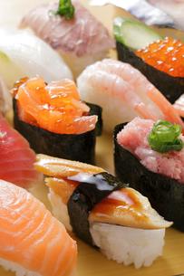 握り寿司の写真素材 [FYI02044524]