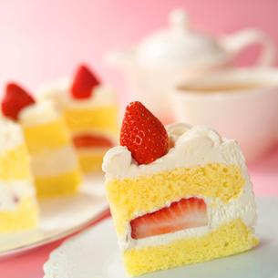 ショートケーキの写真素材 [FYI02044704]