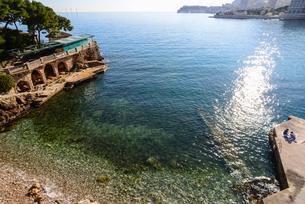 モナコの海の写真素材 [FYI02044899]